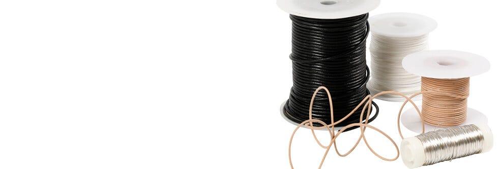 Kedjor, snören och wire