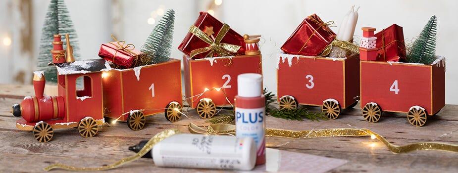 Julklappar, adventspresenter och julklappsinslagning