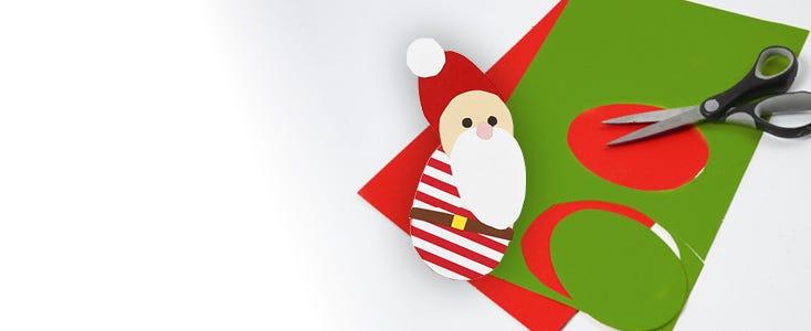 Julklipp med schabloner