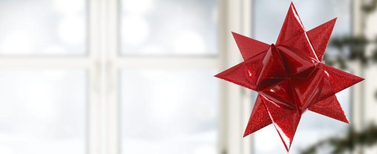 Flätade julstjärnor