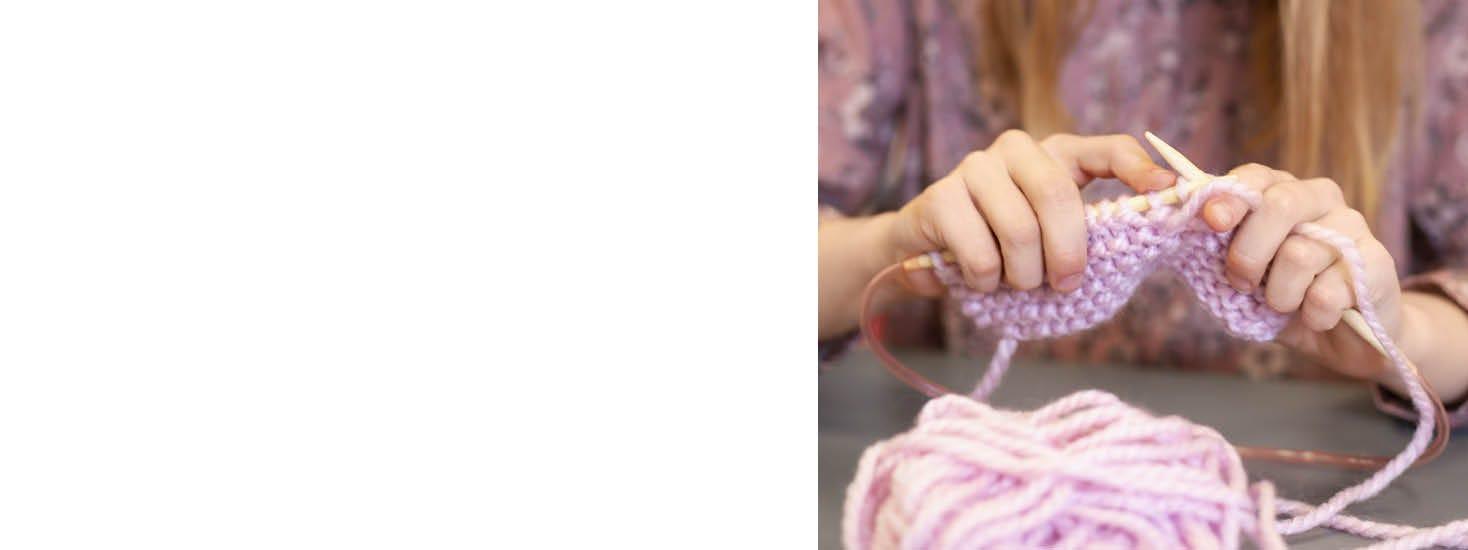 Sy och sticka för barn