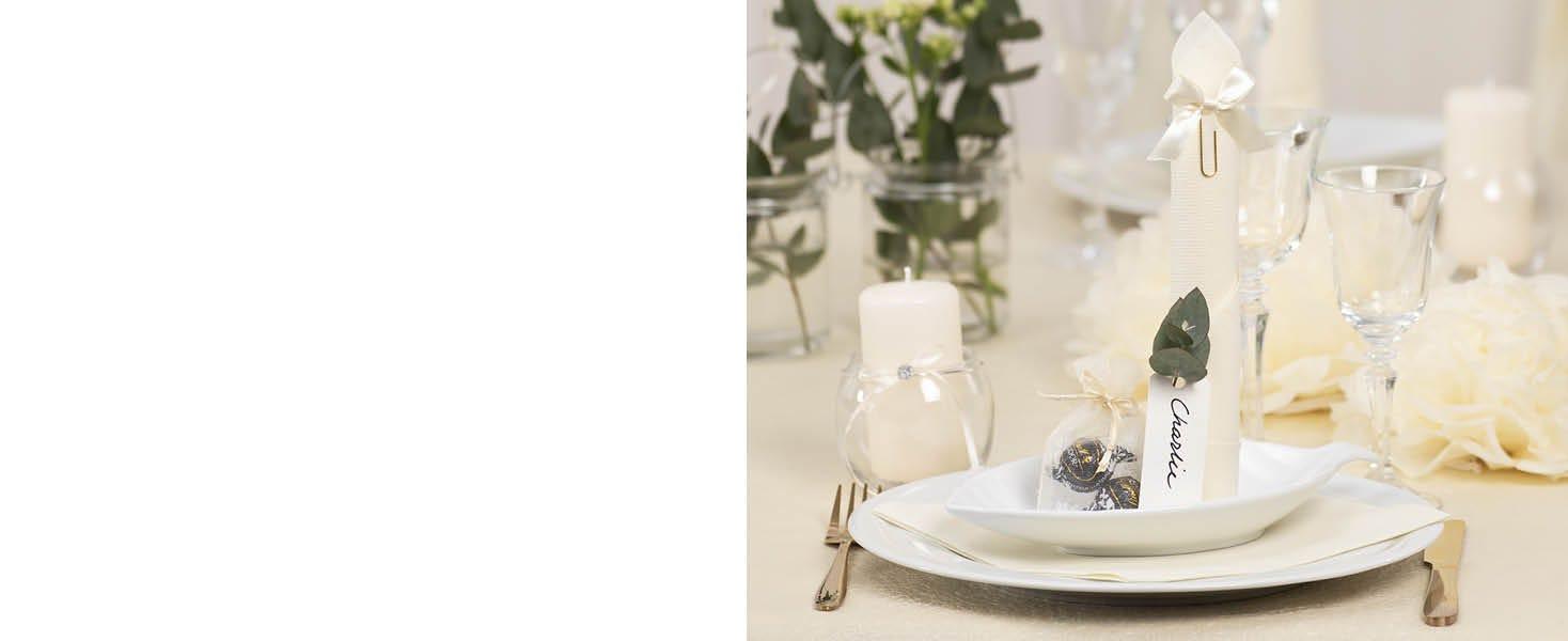 Dukning och bords dekorationer