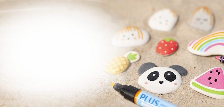 Kreativt sommarkul för barn
