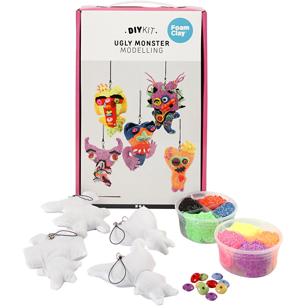 EasyKit - Ugly monster, Small, 1 set