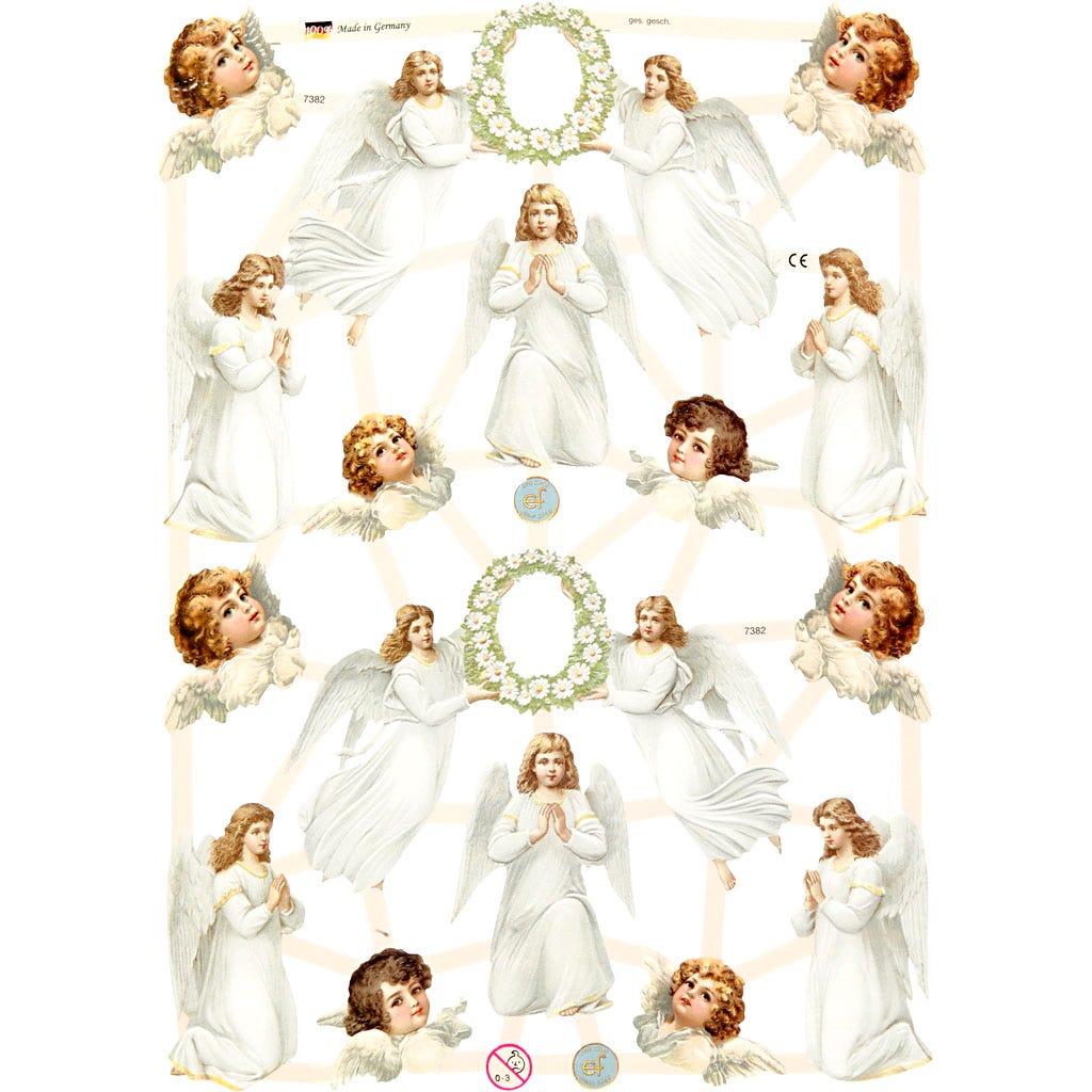Bokmärken Änglar 3 ark