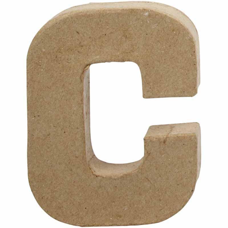 Bokstav, H: 10 cm, C, 1 st.