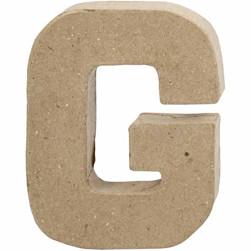Bokstav, H: 10 cm, G, 1 st.