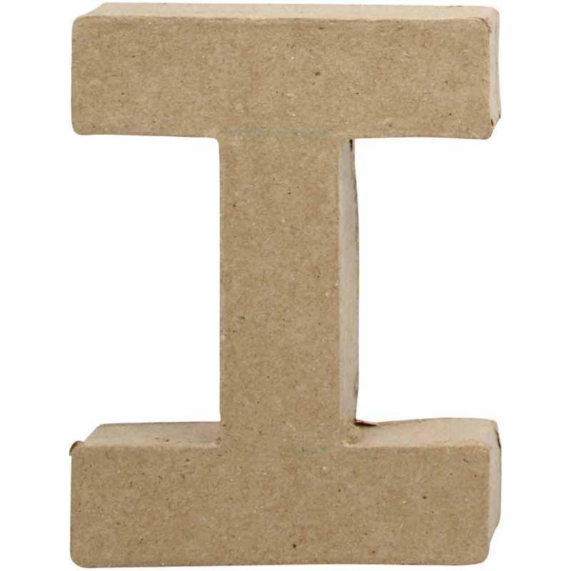 Bokstav, H: 10 cm, I, 1 st.
