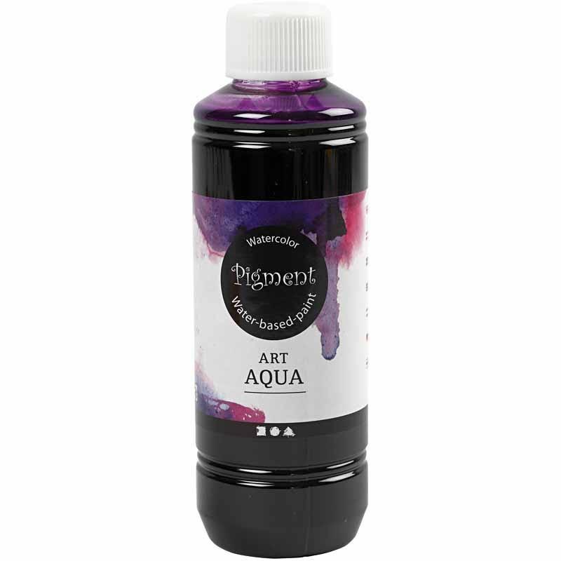 Art Aqua Pigment, rödviolett, 250 ml