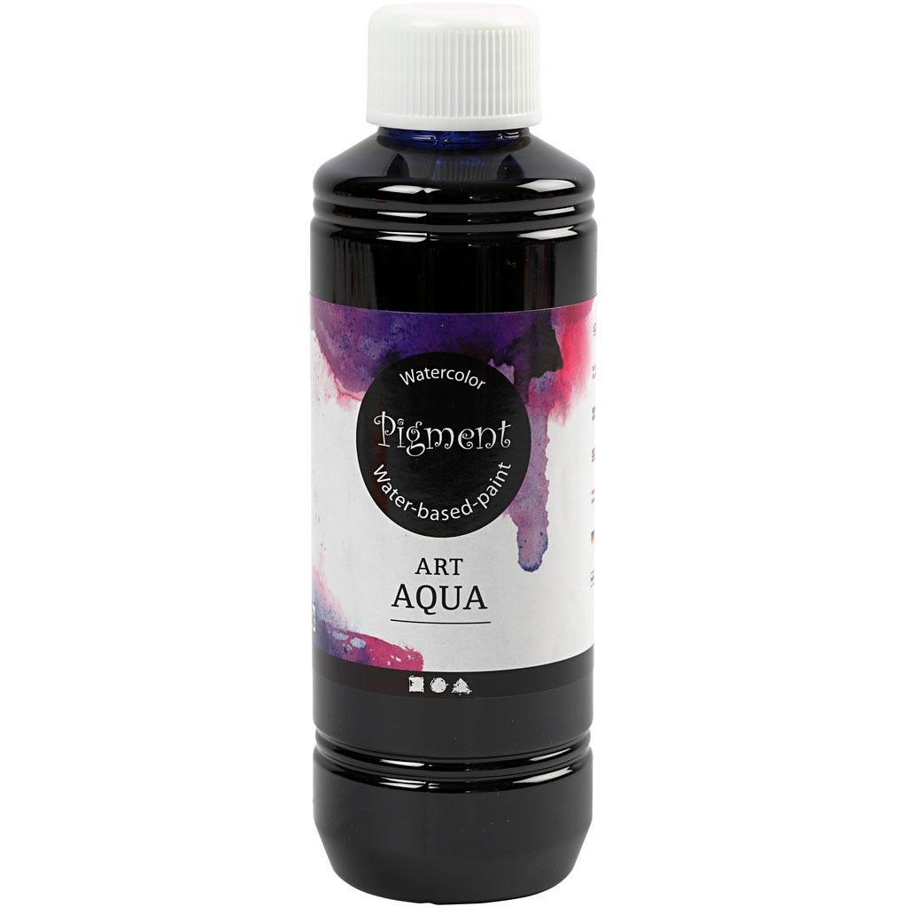Art Aqua Pigment, marinblå, 250 ml