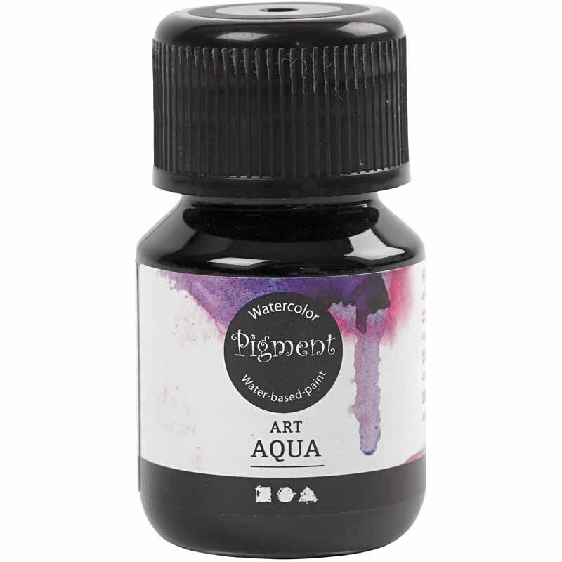 Art Aqua Pigment, kungsblå, 30 ml