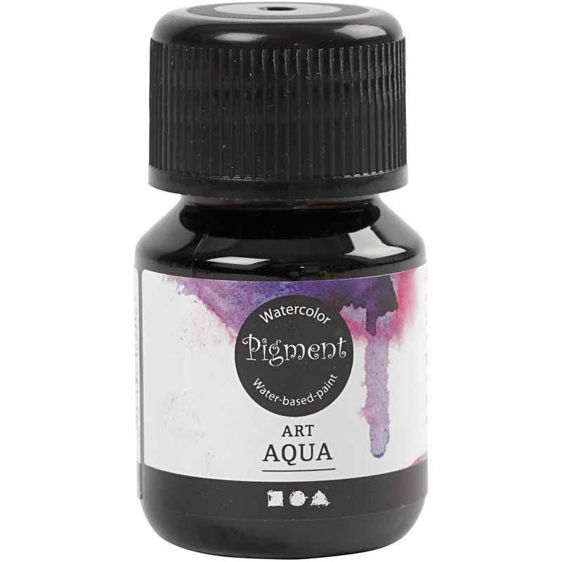 Art Aqua Pigment, brun, 30 ml