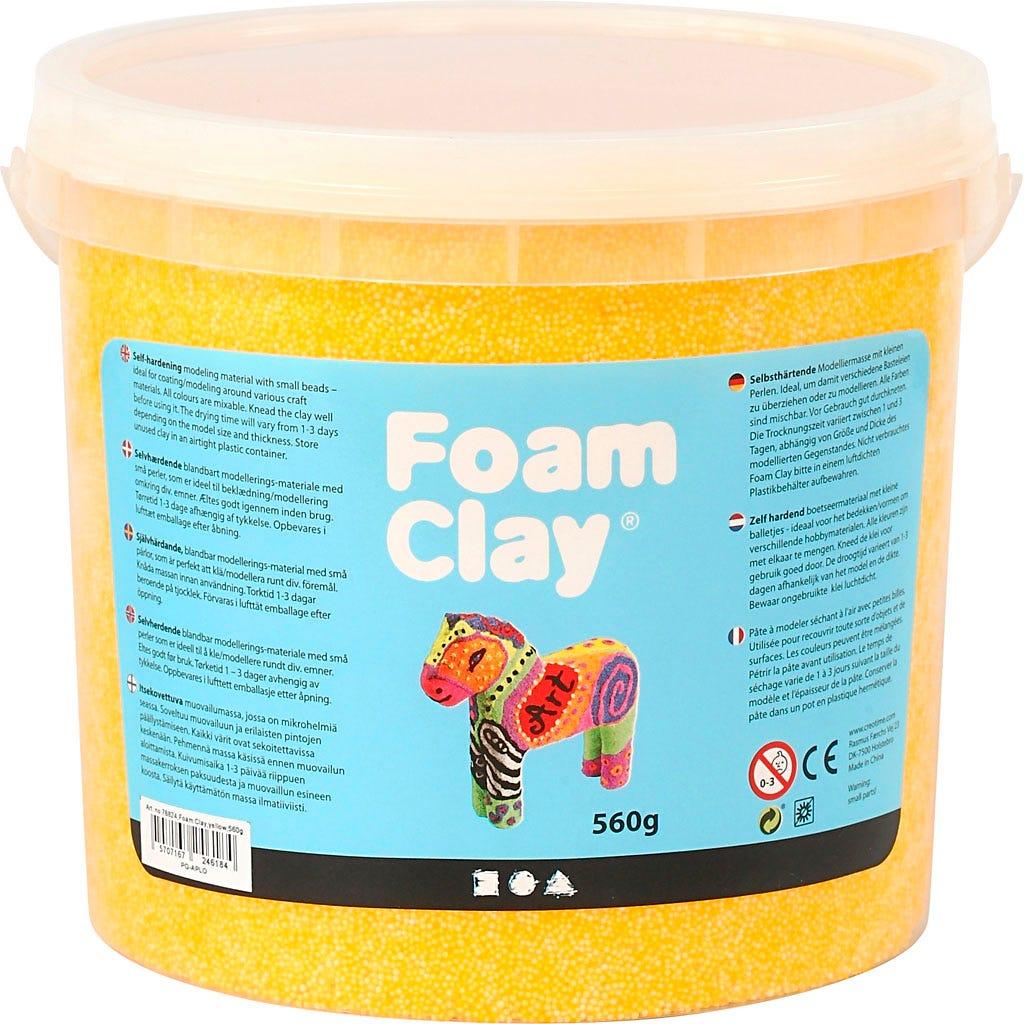 Foam Clay - Gul 560 g