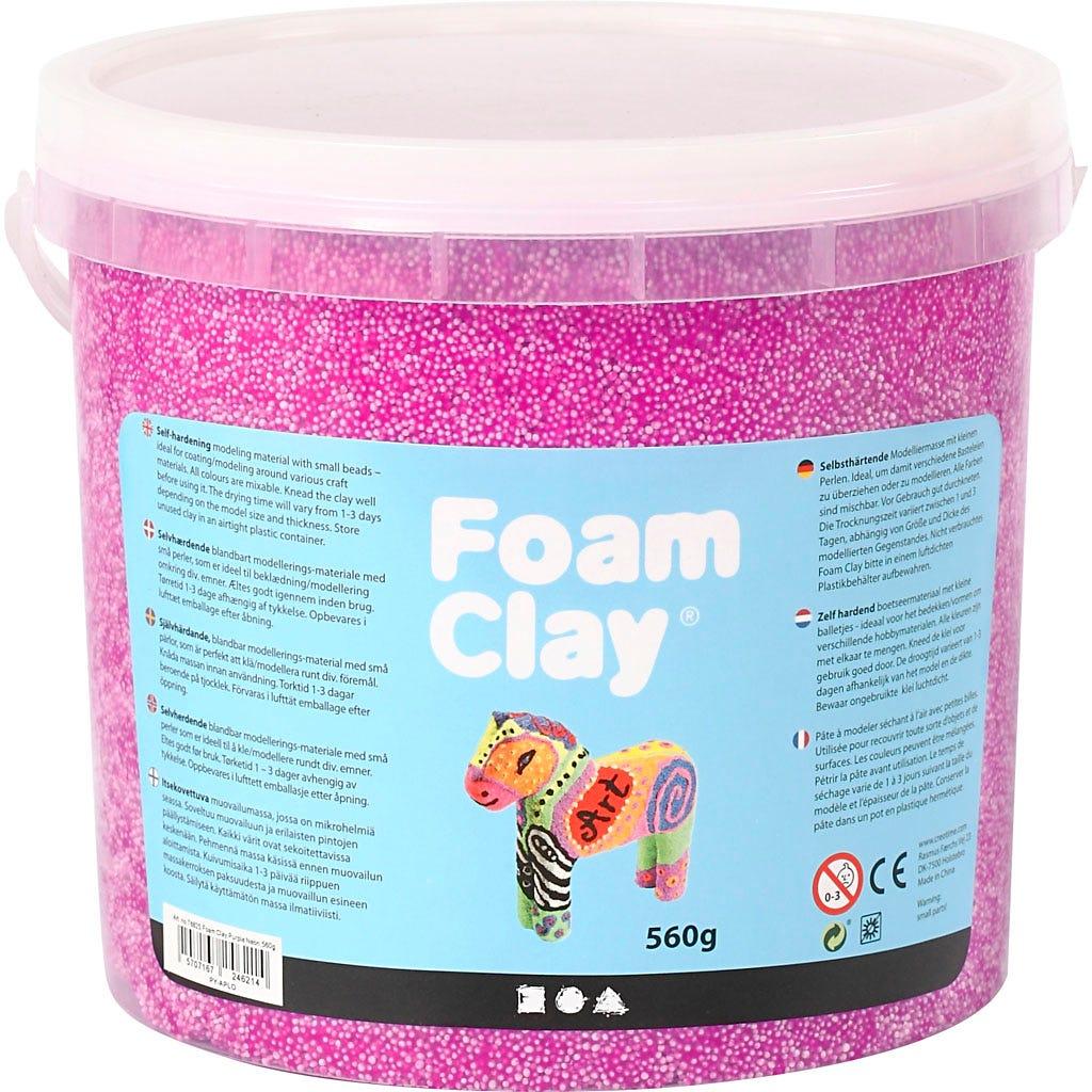 Foam Clay - Neonlila 560 g