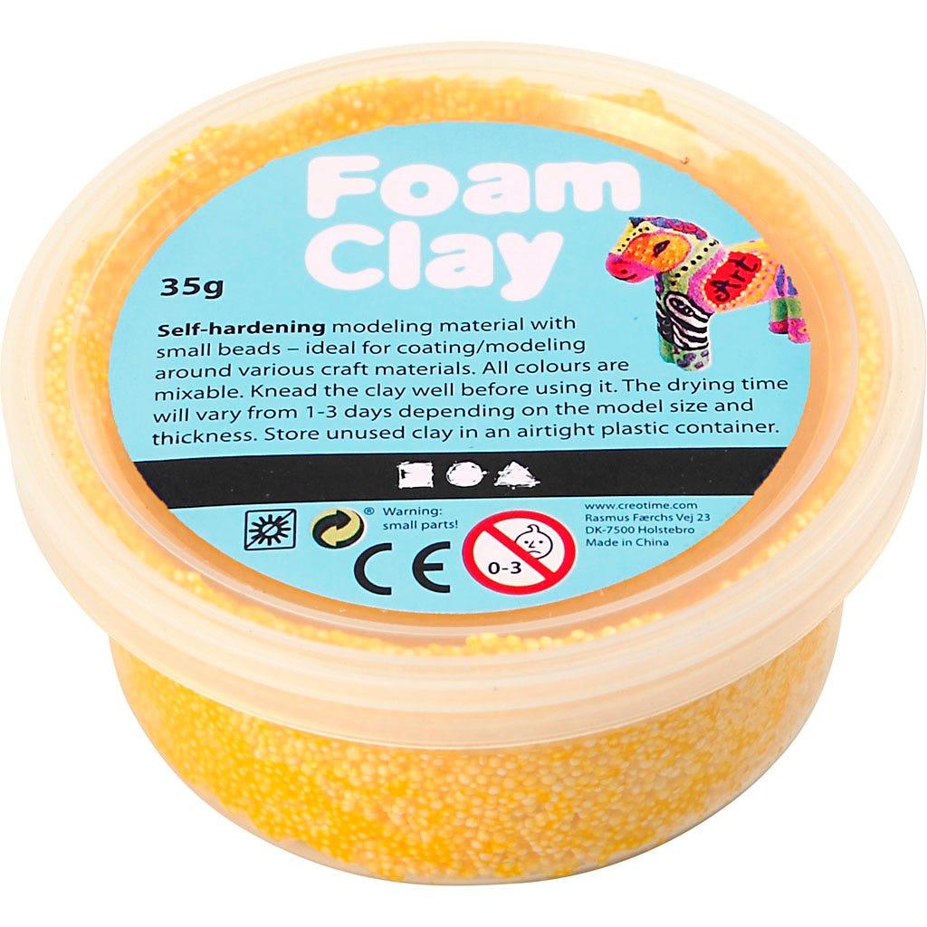 Foam Clay - Gul 35 g