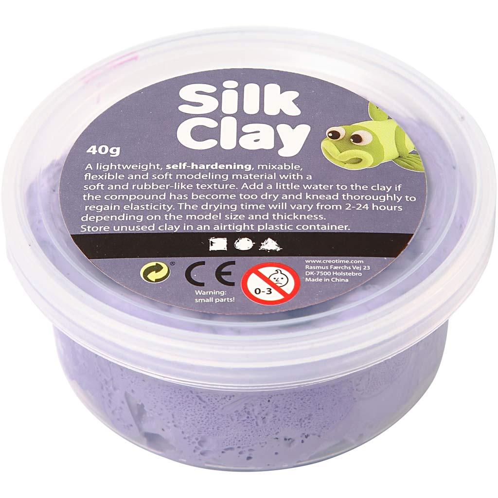Silk Clay - Lila, 40 g