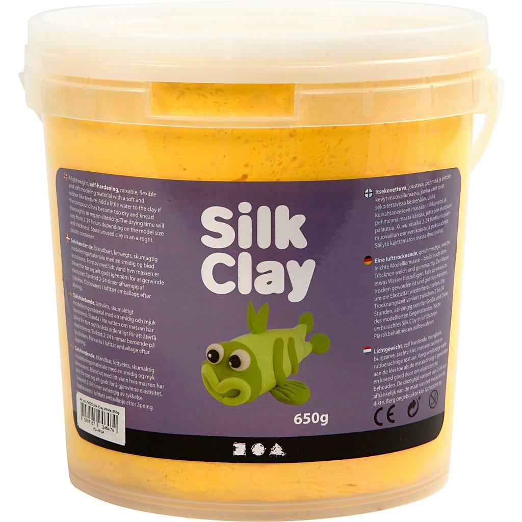Silk Clay - Gul, 650 g