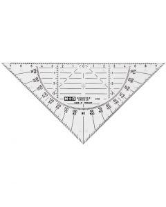 Geometritrekant, B: 16 cm, 1 st.