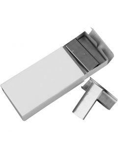 Häftklamrar, B: 12 mm, stl. 24/6 , 10x1000 st./ 1 förp.