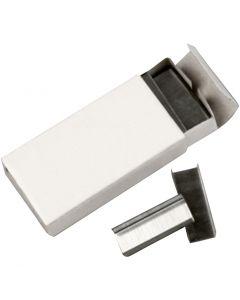 Häftklamrar, B: 10 mm, stl. #10 , 10x1000 st./ 1 förp.