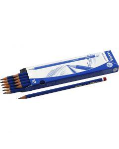 Robinson blyerts, Dia. 6,8 mm, hårdhet B, kärna 2 mm, 12 st./ 1 förp.