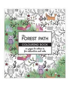 Antistress målarbok, The Forest Path, stl. 19,5x23 cm, 64 , 1 st.