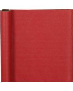 Presentpapper, B: 50 cm, 60 g, röd, 5 m/ 1 rl.