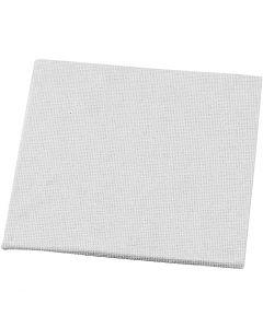 Målarplattor, stl. 10x10 cm, 280 g, vit, 1 st.