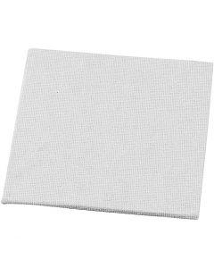 Målarplattor, stl. 10x10 cm, 280 g, vit, 10 st./ 1 förp.