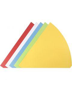 Strutar, H: 68 cm, Dia. 20 cm, mixade färger, 5 st./ 1 förp.