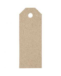 Manillamärken, stl. 3x8 cm, 220 g, 20 st./ 1 förp.