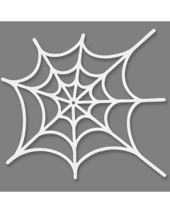 Spindelväv, stl. 19x21 cm, 230 g, vit, 16 st./ 1 förp.