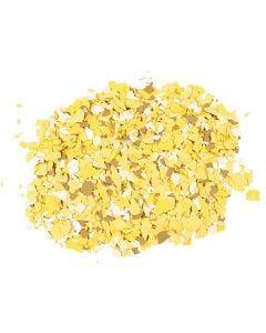 Terrazzo flakes, gul, 90 g/ 1 burk