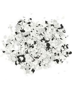 Terrazzo flakes, svart, 90 g/ 1 burk