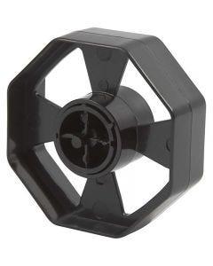 Hjul till bordsdispenser, B: 25 mm, Dia. 7,5 cm, 1 st.