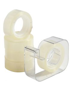 Dispenser med tejp, B: 15 mm, 1 set