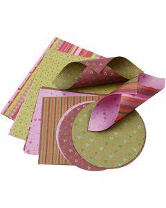 Origamipapper, 80 g, 900 mix. ark/ 1 förp.