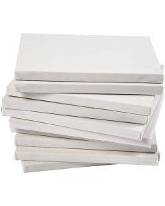 Målarduk, stl. 18x24 cm, 280 g, vit, 40 st./ 1 förp.