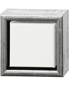 ArtistLine Canvas med ram, djup 3 cm, stl. 14x14 cm, 360 g, vit, 6 st./ 1 förp.