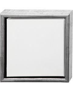 ArtistLine Canvas med ram, stl. 24x24 cm, vit, 6 st./ 1 förp.