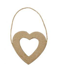 Hjärtramar, H: 7,5 cm, B: 7 cm, 6 st./ 1 förp.