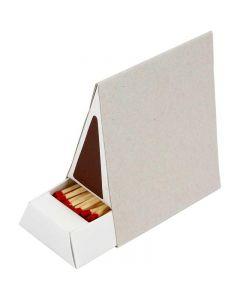 Tändsticksaskar, stl. 8,5x5x9,5 cm, 10 st./ 1 låda