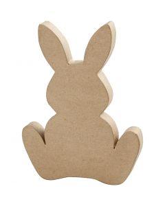 Hare, H: 25 cm, djup 2,5 cm, 1 st.