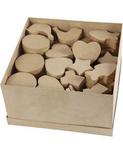 Pappaskar, stl. 6-11 cm, 63 st./ 1 förp.