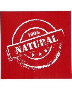 Screen stencil, Natural, 20x22 cm, 1 ark