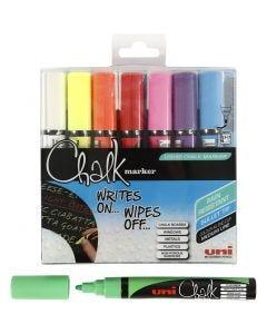 Chalk Marker, spets 1,8-2,5 mm, 8 st./ 1 förp.