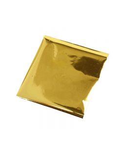 Limfolie, 10x10 cm, guld, 30 ark/ 1 förp.