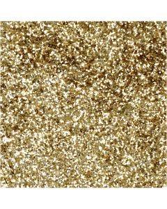 Bio-glimmer, Dia. 0,4 mm, guld, 10 g/ 1 burk