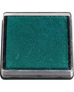 Stämpeldyna, stl. 40x40 mm, grön, 1 st.