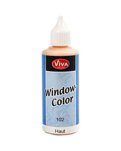 Fönsterfärg, ivory, 80 ml/ 1 flaska